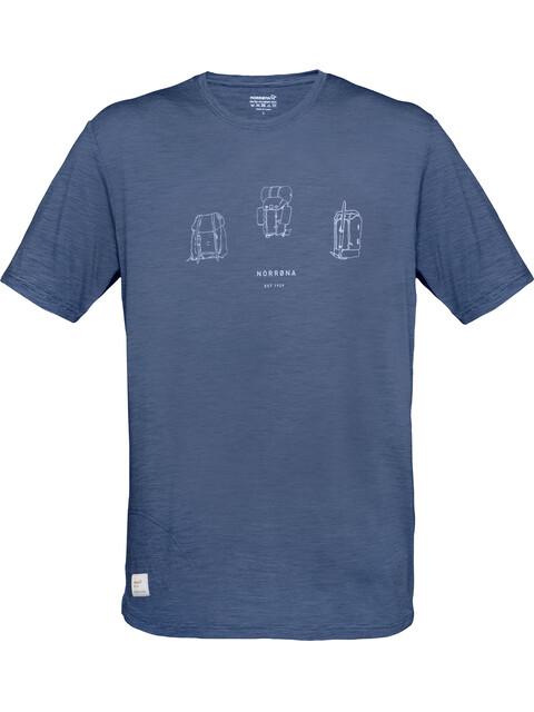 Norrøna M's Svalbard Wool T-Shirt Indigo Night